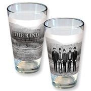 The Band Mountain Range Group Photo Pint Glass