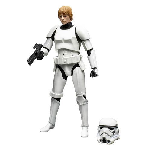Star Wars The Black Series Luke Skywalker in Stormtrooper Disguise 6-Inch Action Figure