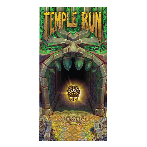 Temple Run Temple Idol Beach / Bath Towel