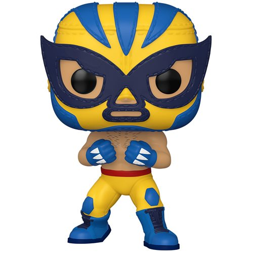 Marvel Luchadores El Animal Indestructible Wolverine Pop! Vinyl Figure