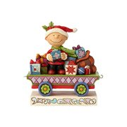 Peanuts Charlie Brown Christmas Train Car by Jim Shore
