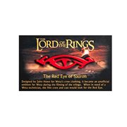 The Lord of the Rings The Red Eye of Sauron Collectable Pin