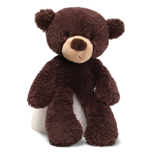Fuzzy Bear Chocolate 13 1/2-Inch Plush