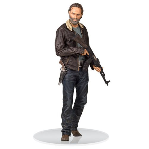 The Walking Dead Season 5 Rick Grimes 1:4 Scale Statue