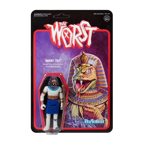 The Worst Snake Tut Wide Release 3 3/4-Inch ReAction Figure