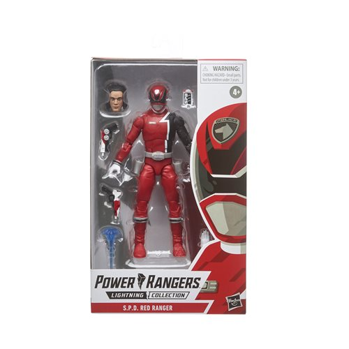 Power Rangers Lightning Collection S.P.D. Red Ranger 6-Inch Action Figure