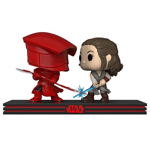 Star Wars: The Last Jedi Rey and Praetorian Guard Pop! Vinyl Figure Movie Moments