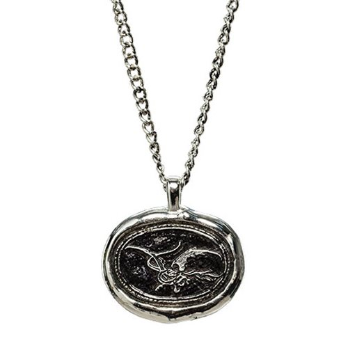 The Lord of the Rings Smaug Wax Seal Necklace