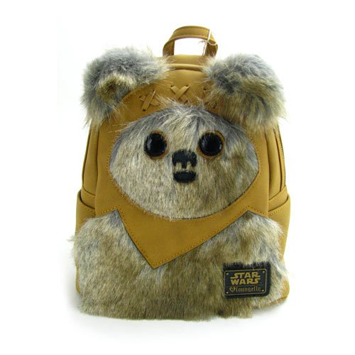 Star Wars Ewok Faux Suede Mini-Backpack
