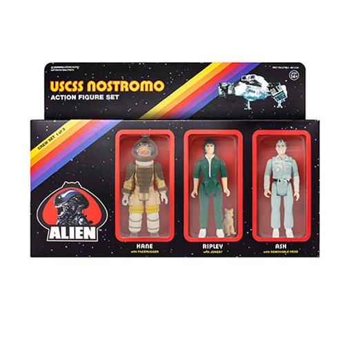 Alien 3 3/4-inch ReAction Figures Pack A