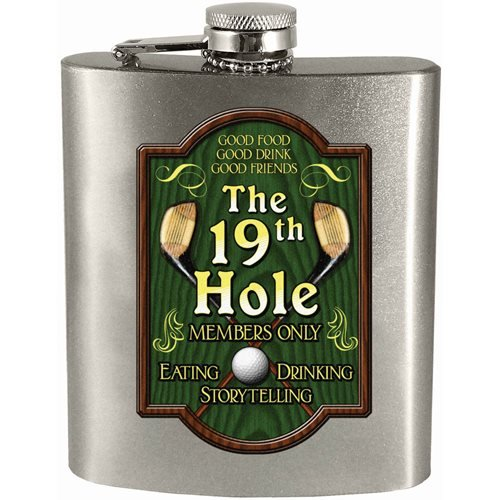 The 19th Hole Hip Flask