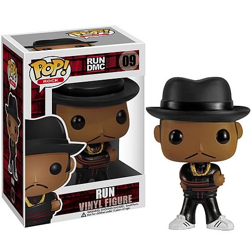 Run DMC Reverend Run Pop! Rock Vinyl Figure
