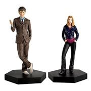 Doctor Who Collection Companion Set #2 Tenth Doctor and Rose Tyler Statues