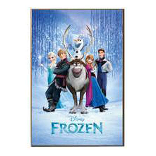 Disney Frozen All Characters Wood Wall Art