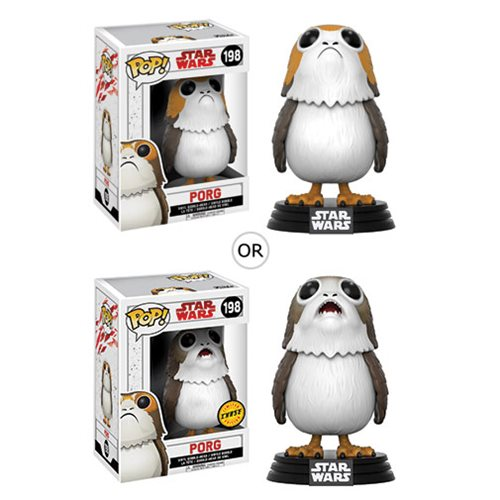 Star Wars: The Last Jedi Porg Pop! Vinyl Bobblehead #198