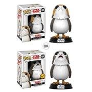 Star Wars: The Last Jedi Porg Pop! Vinyl Bobble Head #198, Not Mint