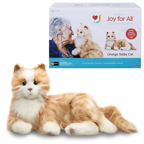 Joy For All Orange Tabby Cat Plush