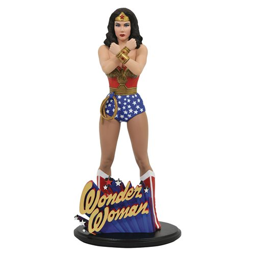 DC Gallery Wonder Woman TV Lynda Carter Statue