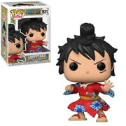 One Piece Luffy in Kimono Pop! Vinyl Figure