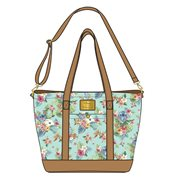 Lilo & Stitch Tropical Floral Print Tote Purse
