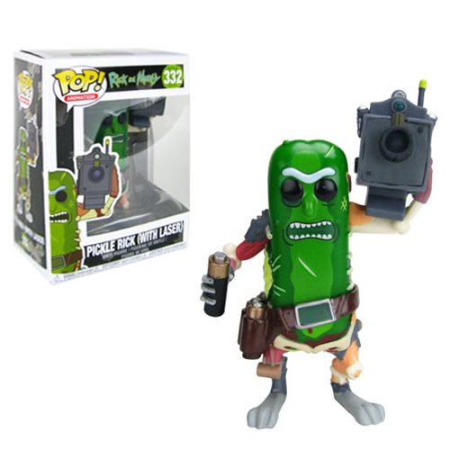 Rick and Morty Pickle Rick with Laser Pop! Vinyl Figure #332