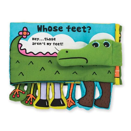 Melissa & Doug Whose Feet? Soft Activity Book