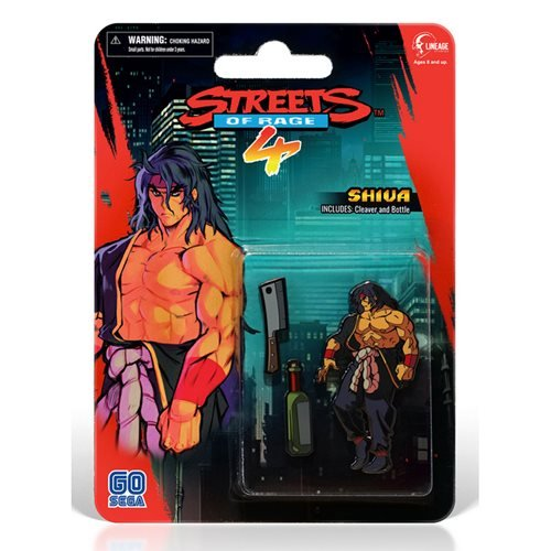 Streets Of Rage 4 Shiva Side-Scroller Pin Set