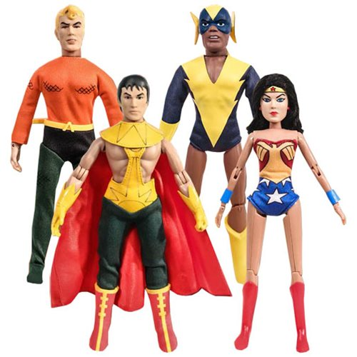 Super Friends 8-Inch Series 2 Retro Action Figure Set