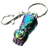 Avengers: Endgame Gauntlet Rainbow Anodized Key Chain