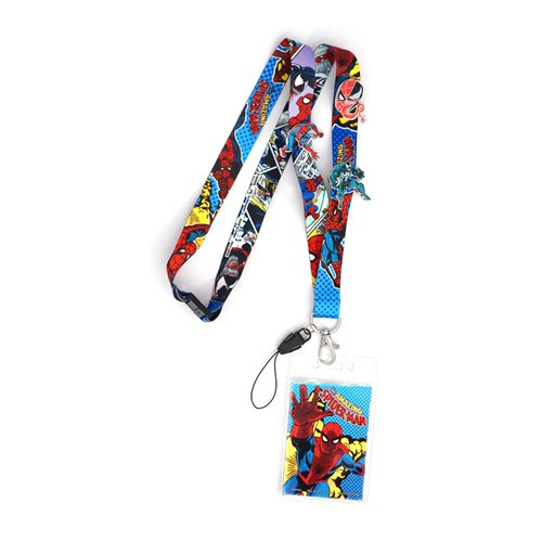 Spider-Man Classic Lanyard and Pin Set
