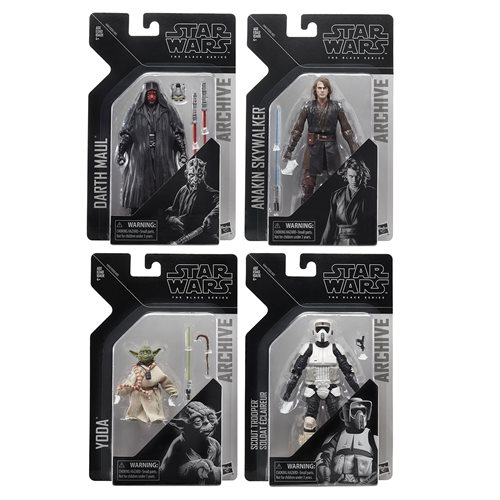 Star Wars The Black Series Archive Action Figures Wave 2 Set