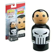 Punisher Pin Mate Wooden Collectible