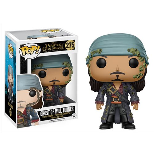 Pirates of the Caribbean: Dead Men Tell No Tales Ghost of Will Turner Pop! Vinyl Figure