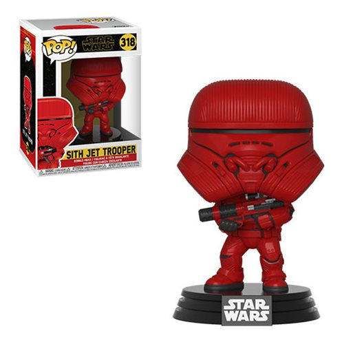 Star Wars: The Rise of Skywalker Sith Jet Trooper Pop! Vinyl Figure