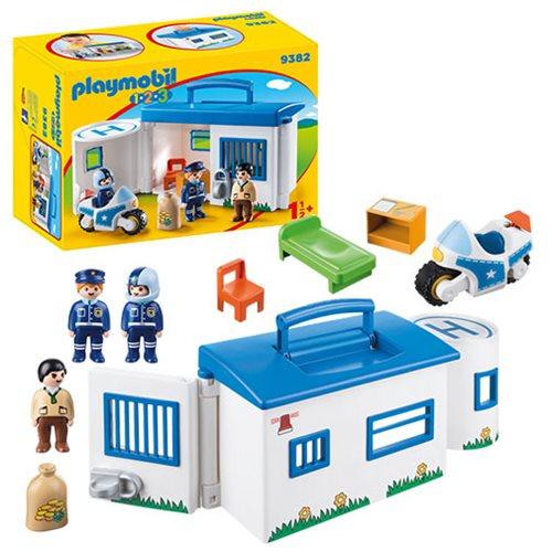 Playmobil 9382 Take Along Police Station