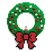 Build On Brick Holiday Wreath