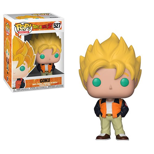 Dragon Ball Z Goku Casual Pop! Vinyl Figure #527, Not Mint