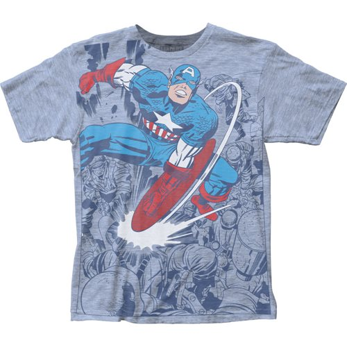 Captain America Captain Fighting T-Shirt