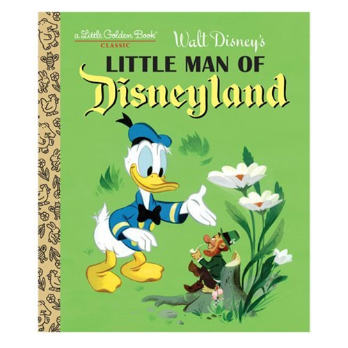 Little Man of Disneyland Little Golden Book