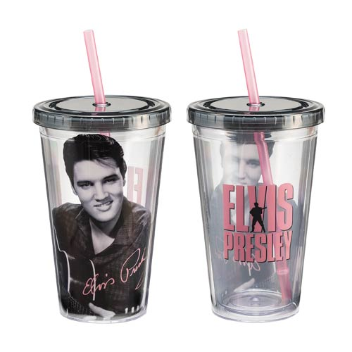 Elvis Presley 18 Oz. Acrylic Travel Cup