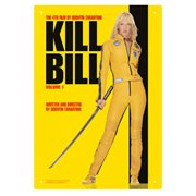 Kill Bill One Sheet Tin Sign