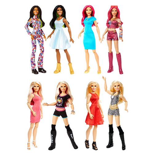 WWE Superstars Girls Doll and Fashion 2018 Case