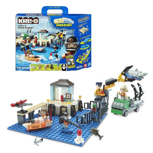 Kre-O Cityville Invasion Marina Madness Set