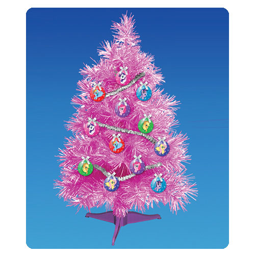 My Little Pony Friendship is Magic Tinsel Pink Christmas Tree