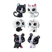 Littlest Pet Shop Black N White Friends Pairs Wave 1 Set