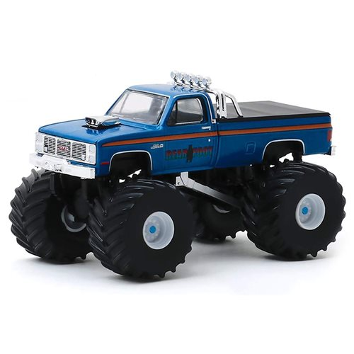 Kings of Crunch Series 6 Bear Foot 1985 GMC High Sierra 2500 1:64 Scale Monster Truck