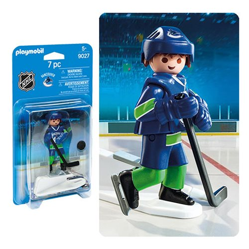 Playmobil 9027 NHL Vancouver Canucks Player Action Figure