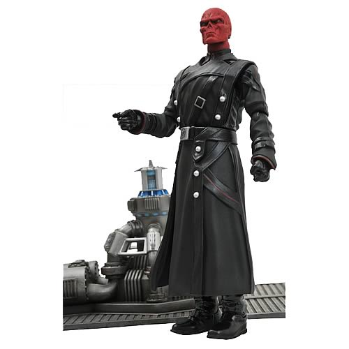 Marvel Select Captain America Red Skull Action Figure