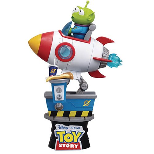 Toy Story Alien Coin Ride DS-036 D-Stage Series 6-Inch Statue - Previews Exclusive