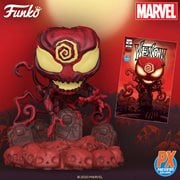 Marvel Heroes Absolute Carnage Deluxe Pop! Vinyl Figure and Venom #27 Variant Comic - Previews Exclusive